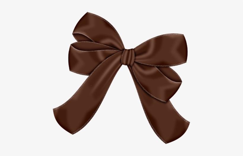 Ribbon brown. Bow clipart bows blue
