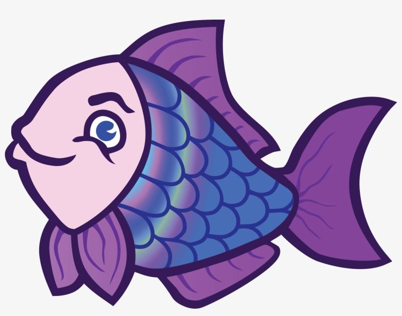 Fish Clipart Character Desenho De Peixe Colorido Para Imprimir