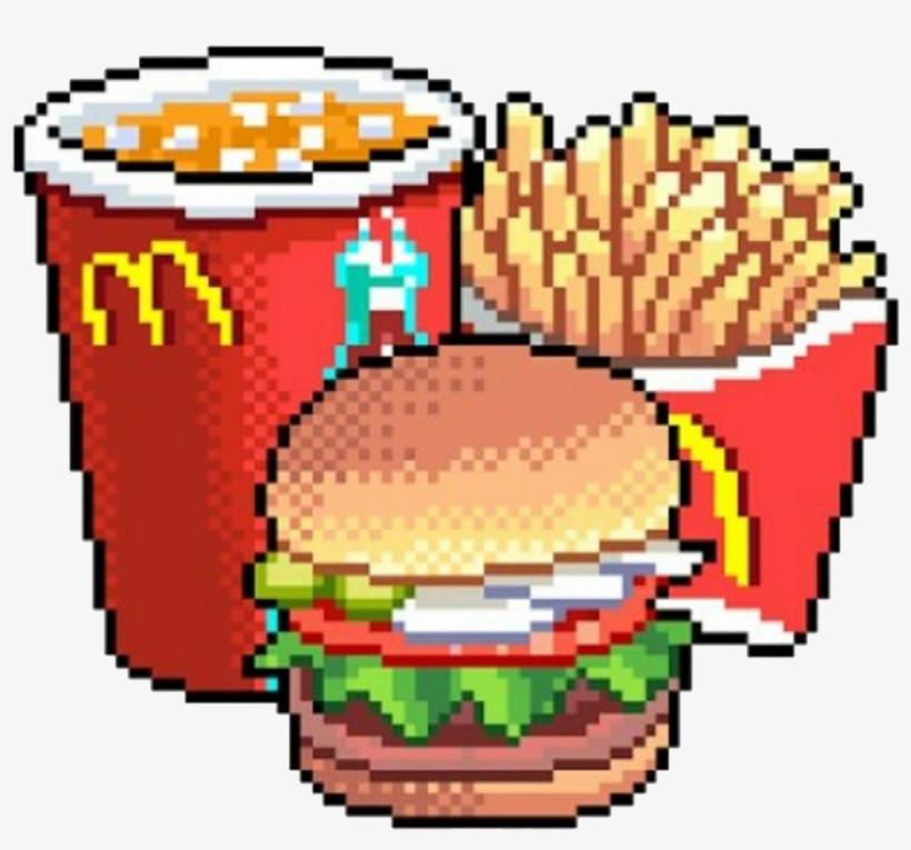 Mc Donald Comida Png Pixel Freetoedit Food Pixel Png Png Image Transparent Png Free Download On Seekpng