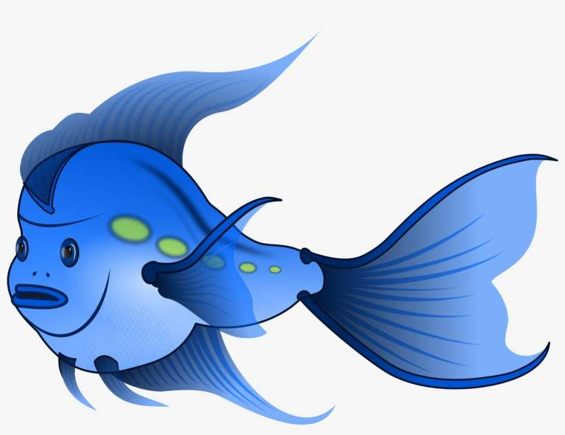Cartoon Fish - Public Domain Fish Clipart For Commercial Use