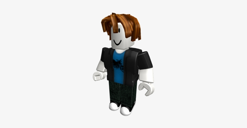 Anime Beautiful Bacon Hair Roblox Bacon Hair Roblox Bacon Hair Noob Png Image Transparent Png