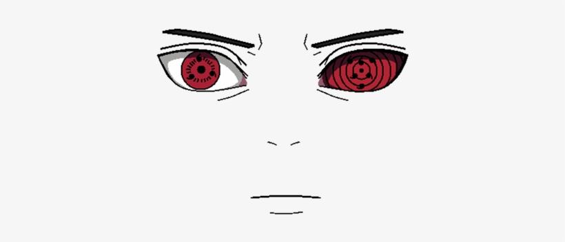 Sasuke Transparent Eyes Sasuke Sharingan Roblox Png Image
