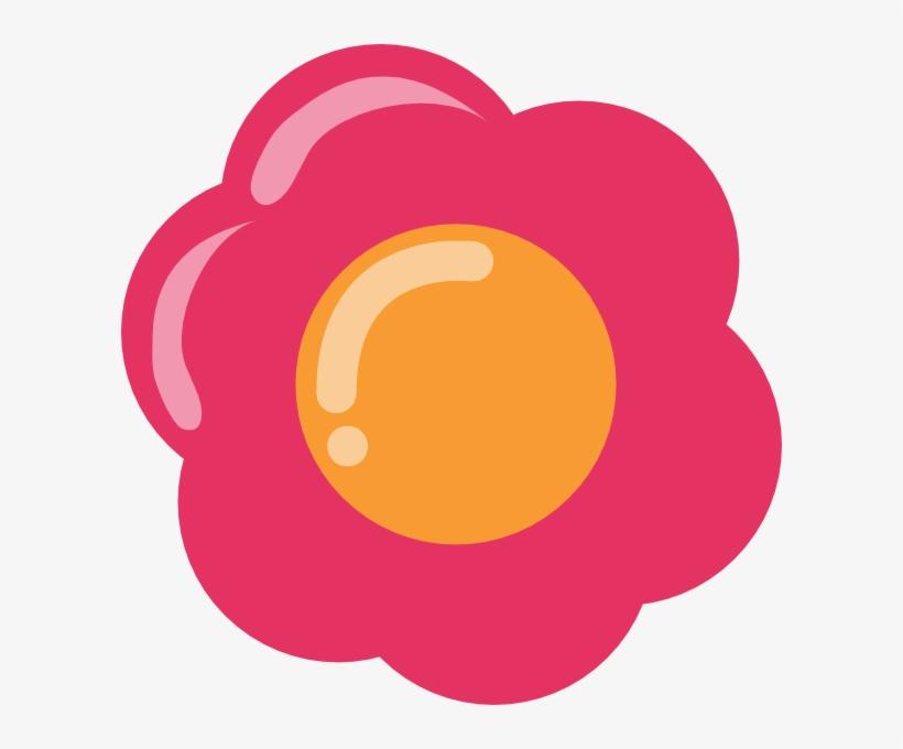 Pink Cartoon Flower Pink Flower Vector Png Png Image Transparent