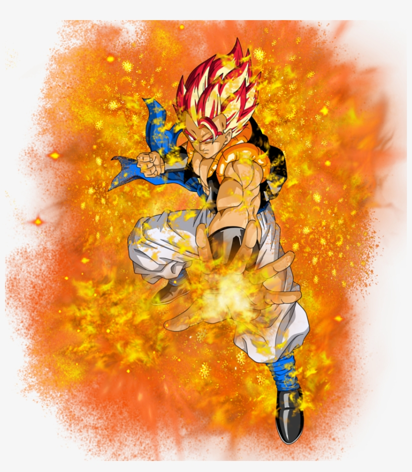 Dragon Ball Gt Gogeta Png Download Dragon Ball Z De Gogeta