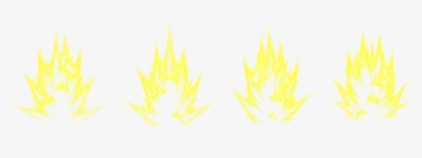 Transparent Flame Super Saiyan - Super Saiyan Aura Png@seekpng.com