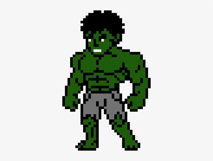 Hulk Pixel Art Hulk Png Image Transparent Png Free