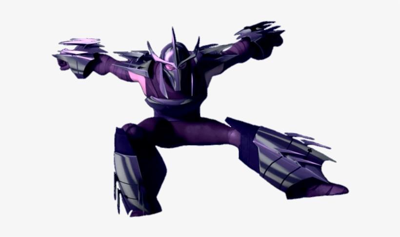 Shredder Without Cape Profile Tmnt 2012 Shredder Transparent Png