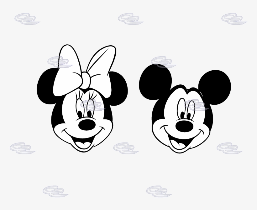 Minnie Mouse Mickey Mouse Mask Coloring Book Cara Minnie Mouse