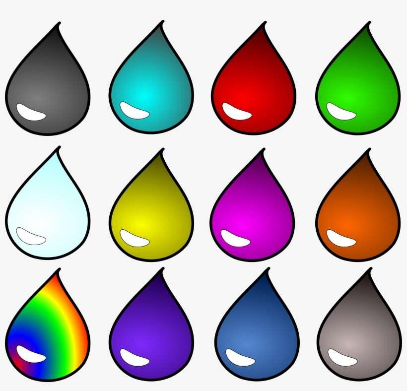 Blood Drop Liquid Liquids Oil Potion Water - Colored Water