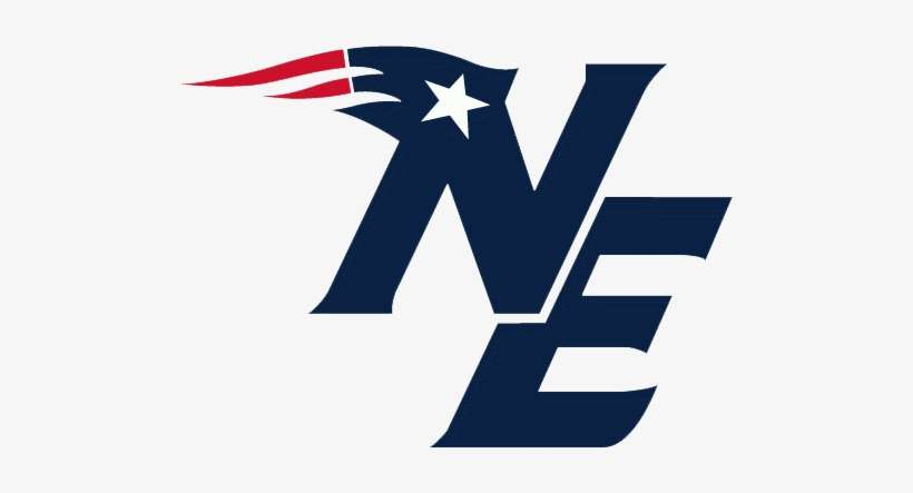 This is an image of New England Patriots Printable Logo within backdrop