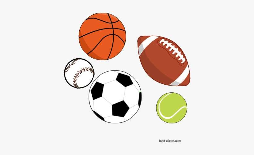 Free Sports Balls Clip Art Sports Balls Clipart Transparent Background Png Image Transparent Png Free Download On Seekpng