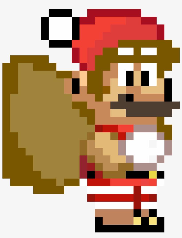 Christmas Mario Png.Christmas Mario Custom Emoji Emoji Mario Png Image