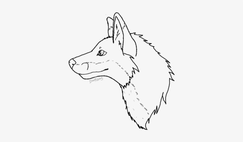 Fox Head Drawing At Getdrawings - Fox Head Line Drawing@seekpng.com