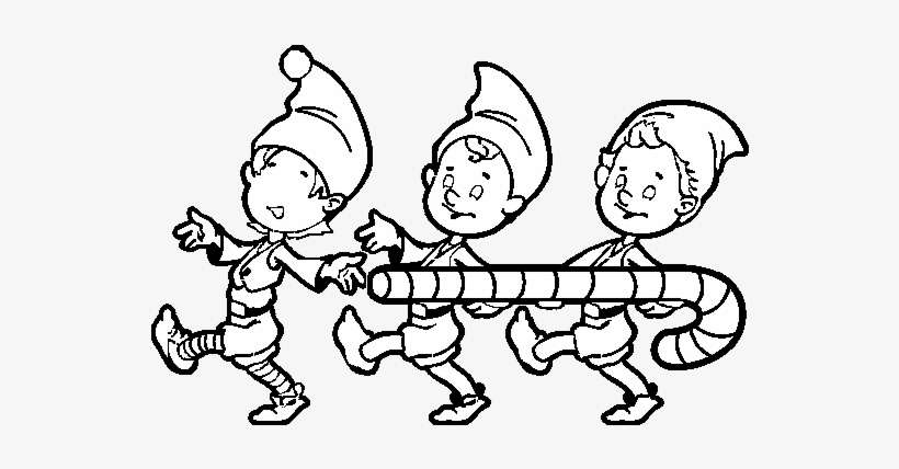 Free Printable Elf Coloring Pages For Kids | 428x820
