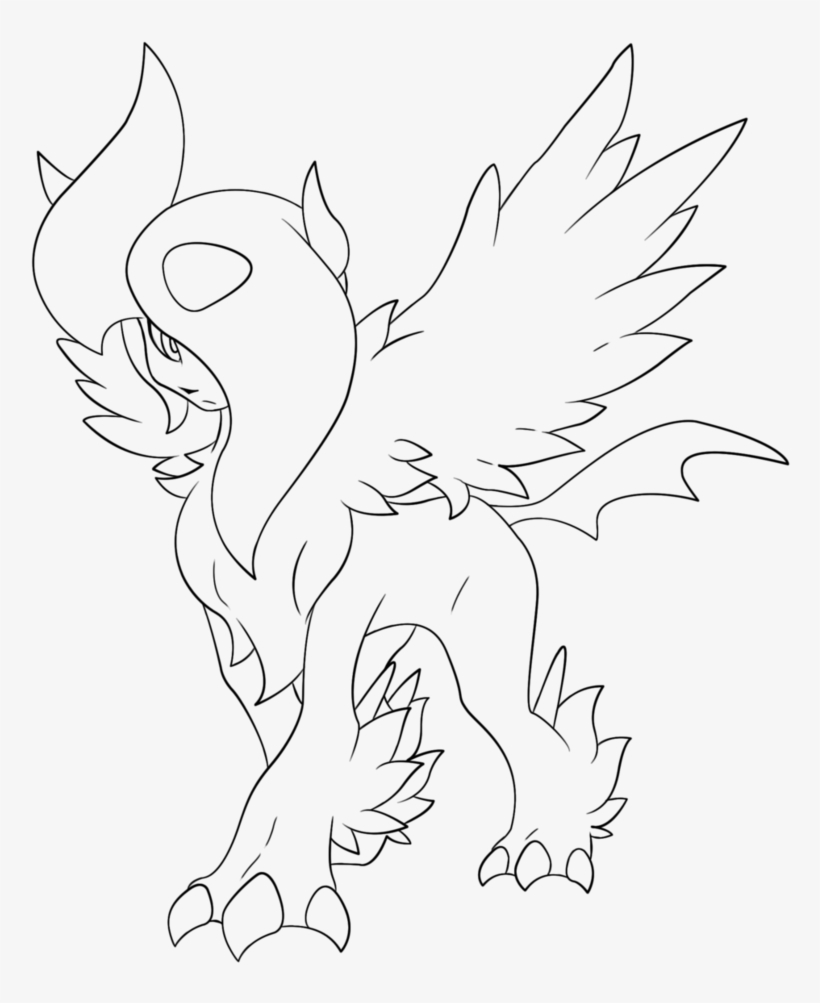 Pokemon Coloring Pages Umbreon - Coloring Home | 1003x820