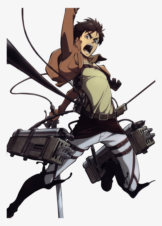 Eren Is Shingeki No Kyojin S Protagonist Eren Jaeger Maneuver Gear Png Image Transparent Png Free Download On Seekpng