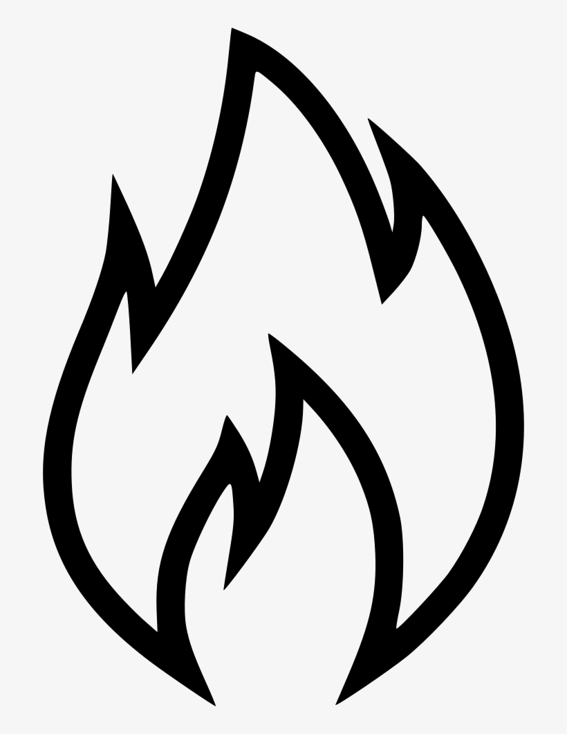 Flames black. Png images cliparts free