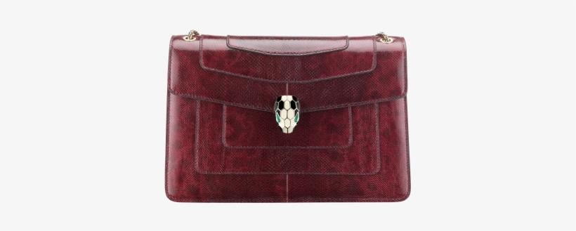 Flap Cover Bag Serpenti Forever In Roman Garnet Shiny - Bvlgari Serpenti  Forever Hand Bag 95aeef24faf9d