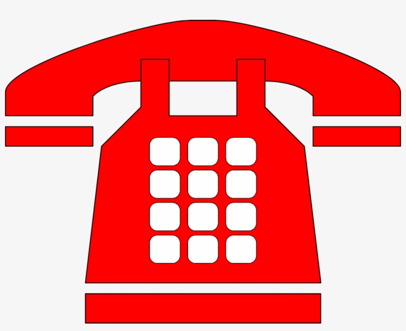 Telephone Clipart Telephone Logo Red Telephone Logo Png Image Transparent Png Free Download On Seekpng