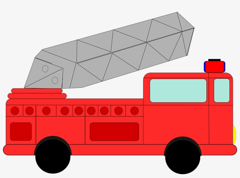 Cartoon Fire Truck Clipart 4 Clipartcow Fire Truck Clip Art Png Image Transparent Png Free Download On Seekpng