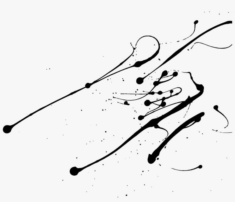 Paint Splatter Splash Ink Drop Splattered Drip Silhouet Paint Splatter Splash Png Png Image Transparent Png Free Download On Seekpng