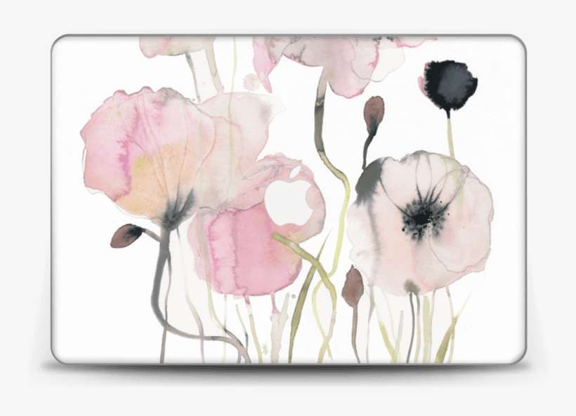 Painted Pink Flowers Watercolor Painting Png Image Transparent