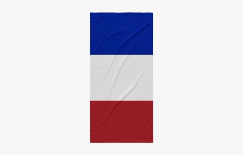 French Flag Beach Towel Png Image