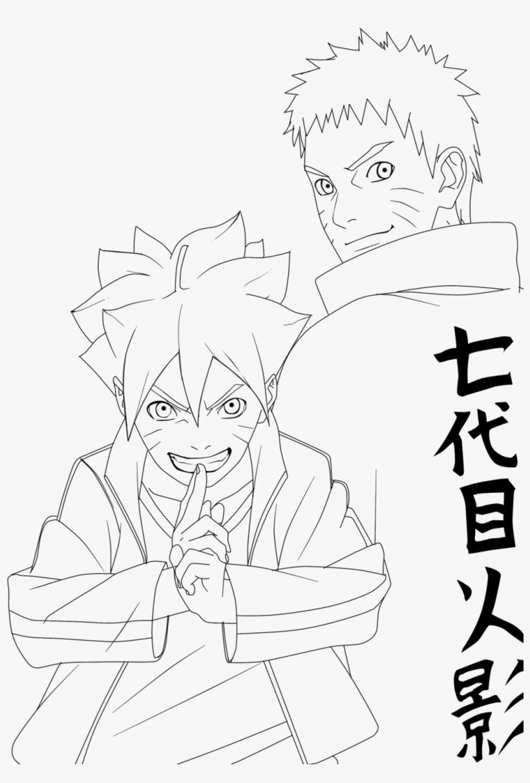Naruto Royalty Free Stock Desenhos Para Colorir Naruto E Boruto