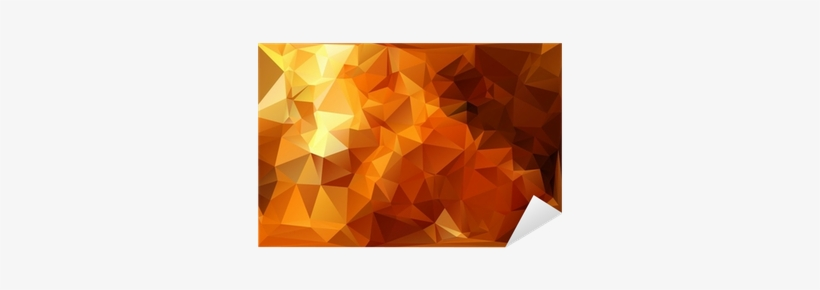 Abstract Orange Bokeh Background With Lens Flare Sticker - Bokeh PNG