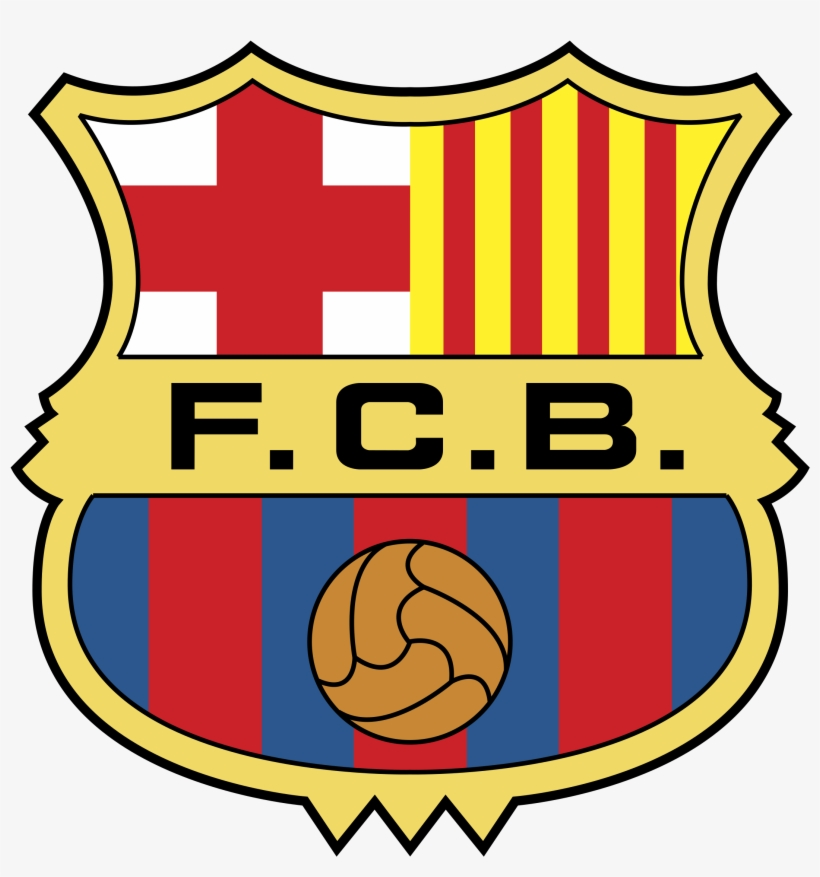 Barcelona Logo Png Transparent Escudo De Fc Barcelona Png Image Transparent Png Free Download On Seekpng