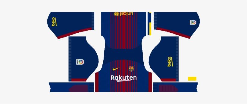 4d17d9adfc8 Barcelona Nike Kits 2017/2018 - Barcelona Dream League Kit 2018 PNG ...