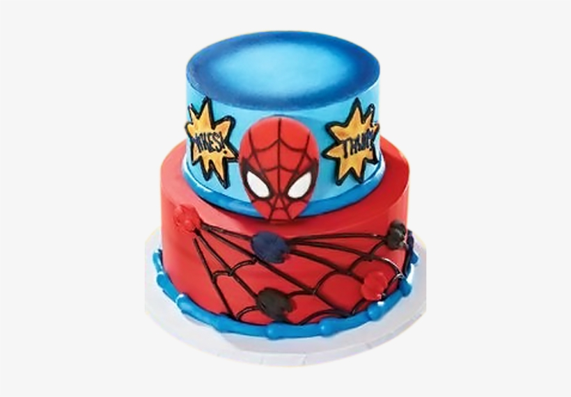 Astonishing Birthday Cakes For Boys Edible Image Batman Spiderman Cake Png Funny Birthday Cards Online Alyptdamsfinfo