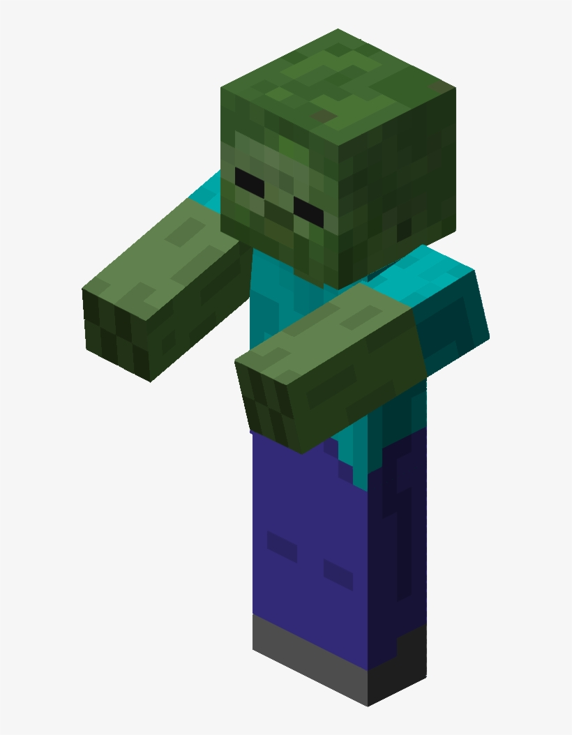 Minecraft: Diary Of A Minecraft Zombie PNG Image  Transparent PNG