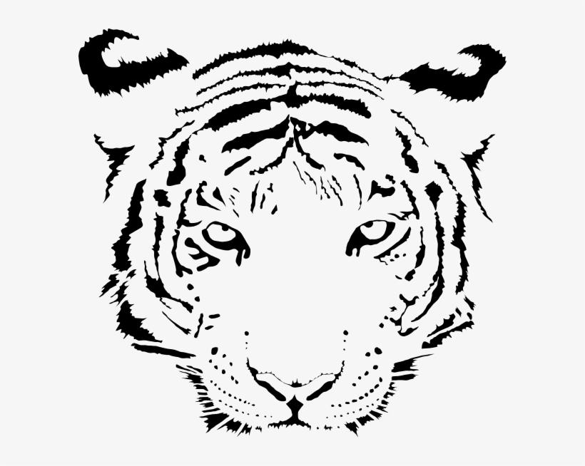 small  ausmalbild tiger kopf png image  transparent png