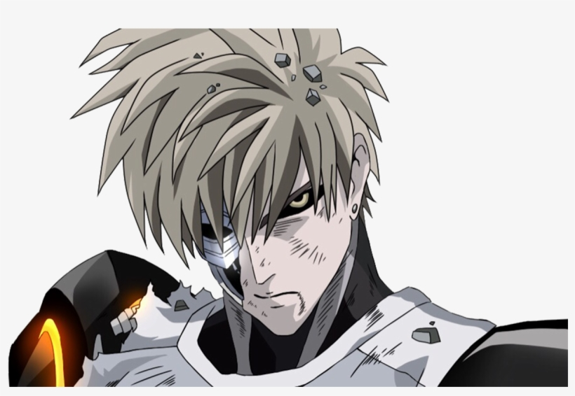 Anime One Punch Man Genos Wallpaper One Punch Man Genos Png Png
