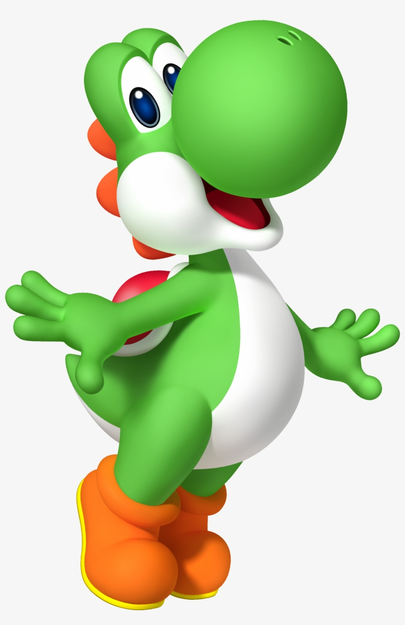 Mp9 Yoshi Super Mario Bros Characters Png Png Image Transparent