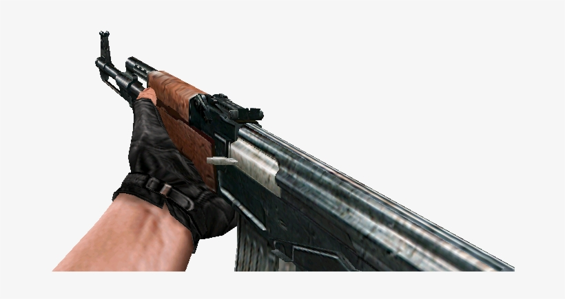 First Person Ak47 Roblox Ak47 Png Download Cs Condition Zero Ak47 Png Image Transparent Png Free Download On Seekpng