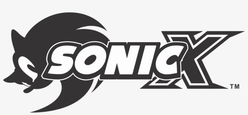 Sonic X Anime Logo Sonic X Logo Vector Png Image Transparent Png Free Download On Seekpng