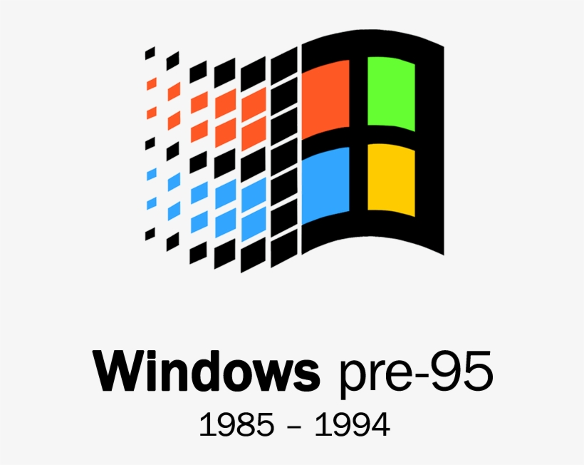 Windows 98 Vector Logo PNG Image | Transparent PNG Free