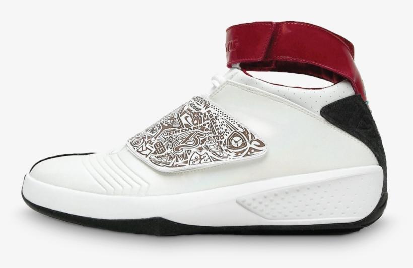 518981bb4c758a Air Jordan Xx - Air Jordans With Straps PNG Image