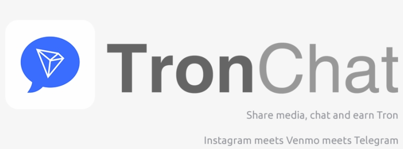 Trx To Power New Social Media App On The Tron Network - Tronchat PNG