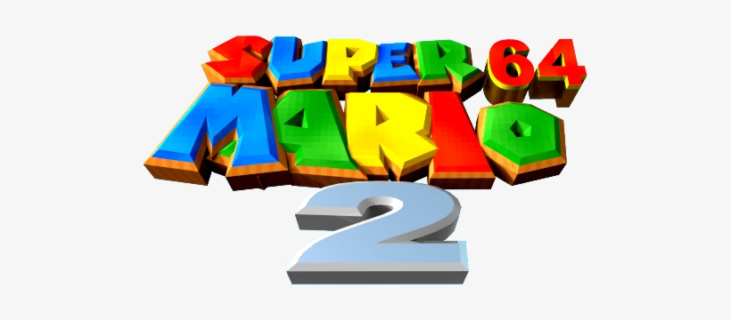 Nintendo 64 Png Logo Banner Royalty Free Super Mario 64 2 Logo Png Image Transparent Png Free Download On Seekpng
