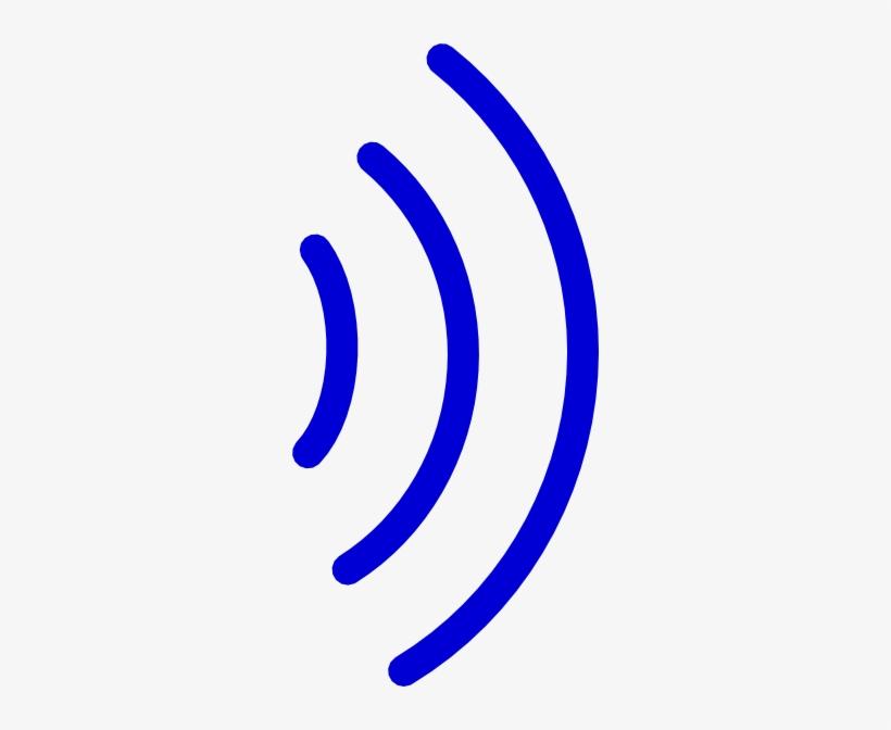 Radio Waves Clip Art At Clker - Sound Wave Clip Art PNG
