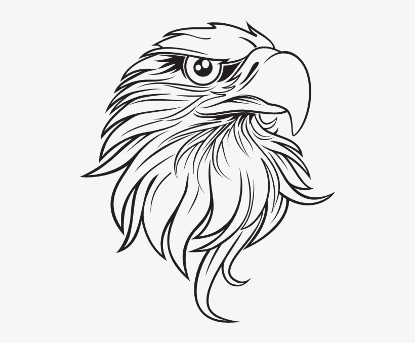 Eagle Clipart Black And White Football Clipart - Eagles