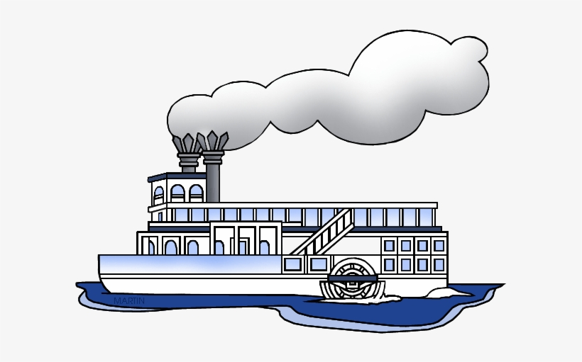 Fishing Boat Clipart Steamer Boat Steam Boat Clip Art Png Image Transparent Png Free Download On Seekpng