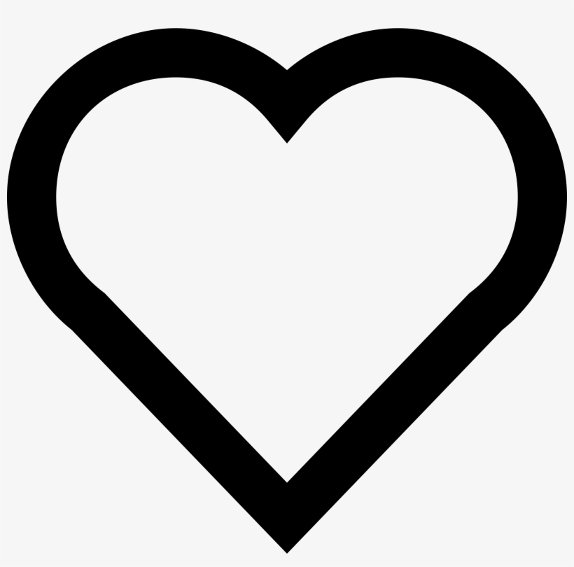 A Simple Heart Heart Emoji Coloring Page Png Image Transparent Png Free Download On Seekpng