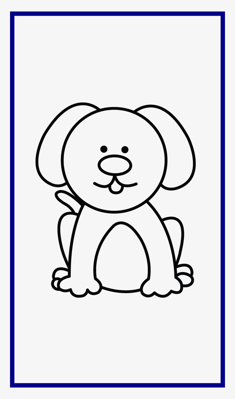 Unbelievable Easy Cartoon Dog Drawing For Personal Dog Clipart Easy To Draw Png Image Transparent Png Free Download On Seekpng