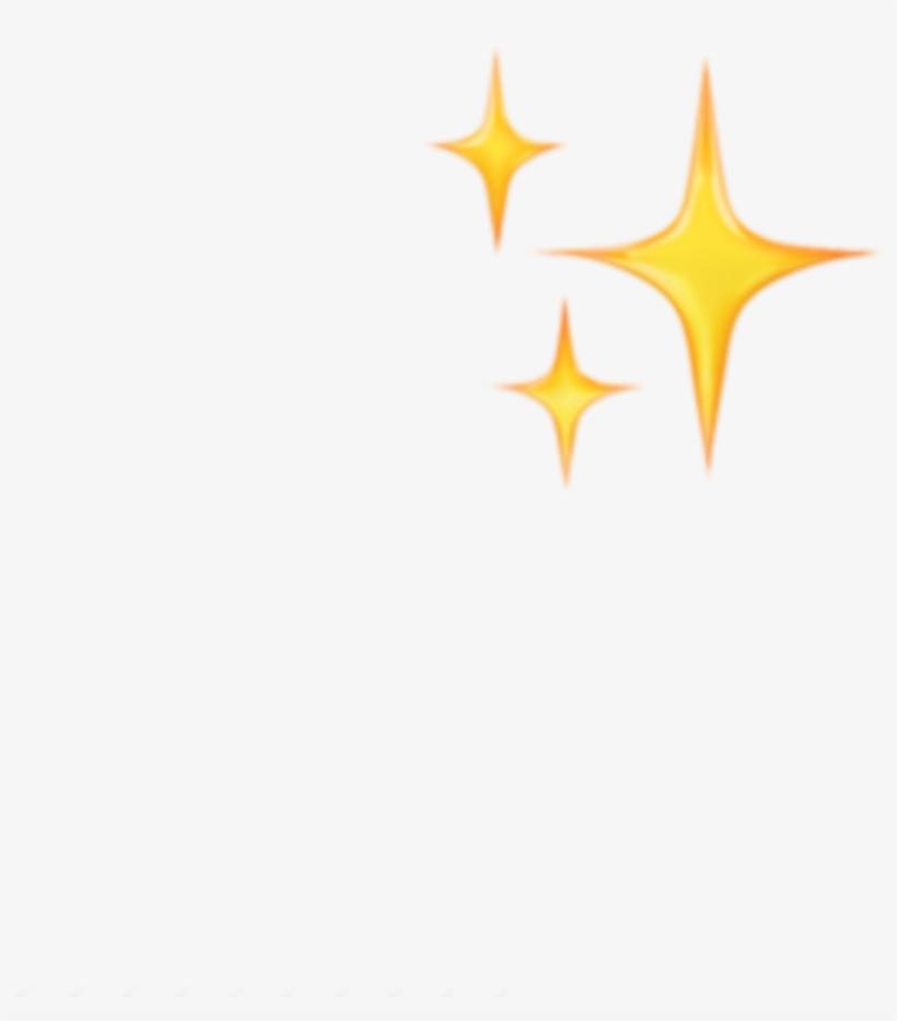 Sticker Emoji Emojis Yellow Sparkle Stars Tumblr Png Stars Iphone