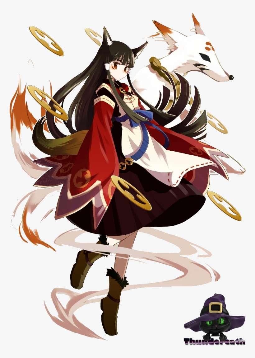 Anime Fox Girl