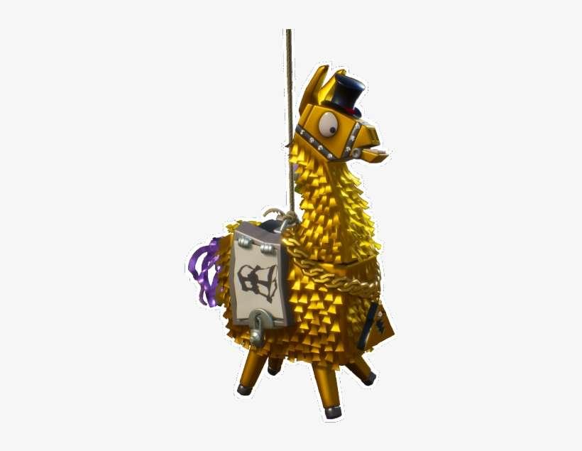 Fortnite Llama Png Clipart Free Stock - Fortnite Gold Loot